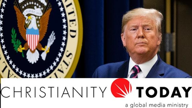 Christianity Today called for President Trump's removal Thursday.(AP Photo/Manuel Balce Ceneta)