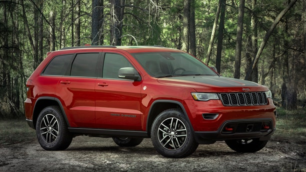 The Grand Cherokee is Jeep's top-selling model.