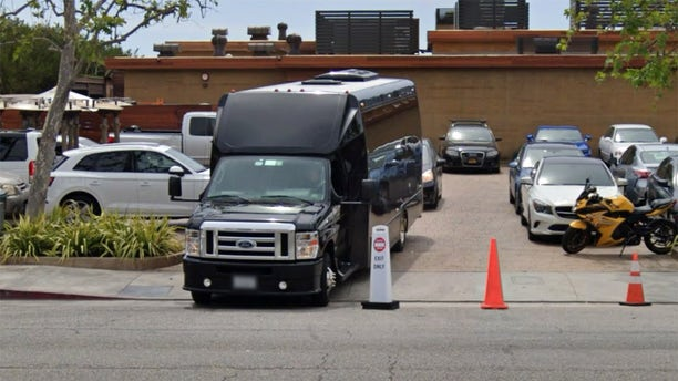 Nobu's exit as seen on Google Street View.<br>