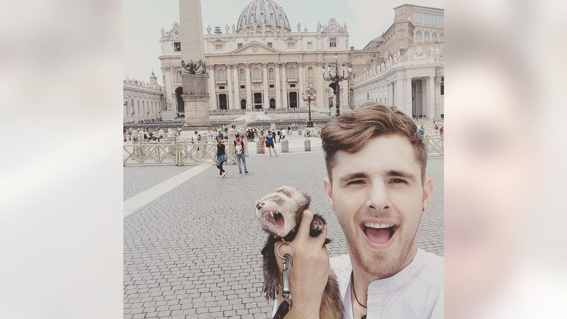 Charlie Hammerton, 25, was grieving following the deaths of his best friend, mother and adopted mom in just a year when he decided to sell his items and travel the world.