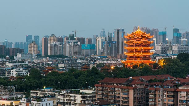 The city of Wuhan, China.