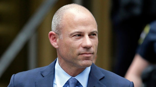 California attorney Michael Avenatti leaves a courthouse in New York following a hearing. Avenatti was arrested Tuesday by IRS agents for alleged violations of his pre-trial release. (AP Photo/Seth Wenig, File)