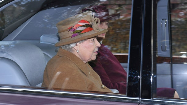 Britain's Queen Elizabeth II attended a morning church service at St. Mary Magdalene Church in Sandringham, England on Sunday, days after the monumental 'Megxit' rocked the palace.