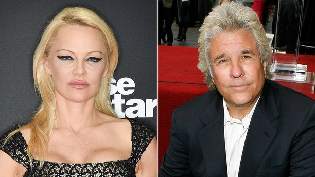 Pamela Anderson and Jon Peters married in Malibu on Monday.