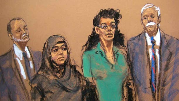 """Seen here in an illustration, Asia Siddiquiand Noelle Velentzas were """"inspired by radical Islam"""" andtaught each other chemistry and electrical skills necessary to build explosives anddetonating devices, authorities said. (AP)"""