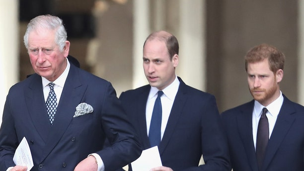 """Prince William and Prince Harry's relationship has hit an """"all-time low,"""" a royal expert told Fox News this week. Meanwhile, the question remains whether Harry's father, Prince Charles, will continue to help him financially."""