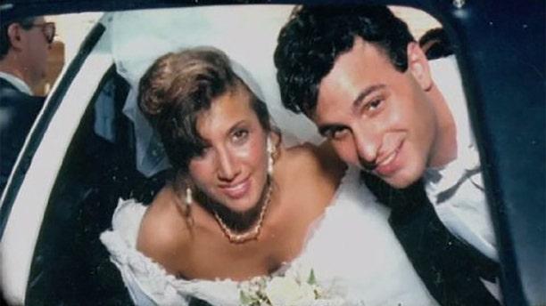 Barbra Reifel and Michael Mastromarino on their wedding day.