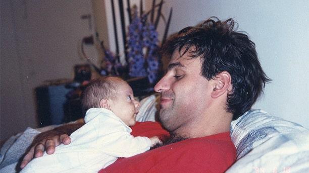 Michael Mastromarino with his son.