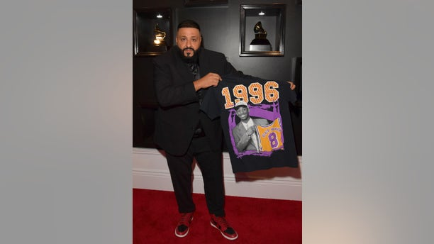 DJ Khaled attends the 62nd Annual GRAMMY Awards at STAPLES Center on January 26, 2020 in Los Angeles, California.