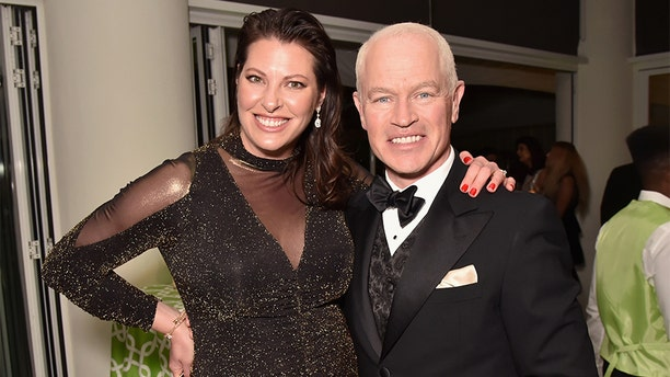 Neal McDonough, right, and Ruve McDonough attend HBO's Official 2019 Golden Globe Awards After Party on January 6, 2019, in Los Angeles, California.