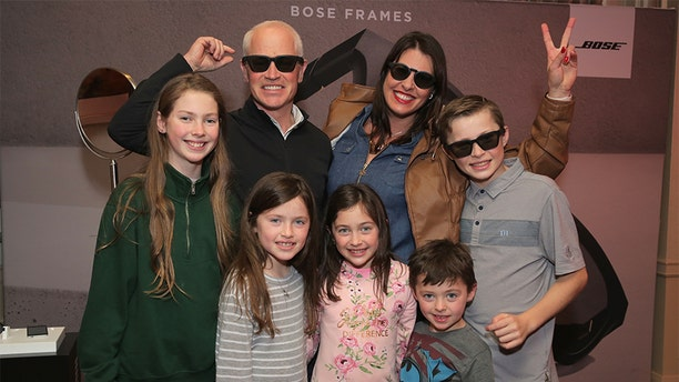 Neal McDonough and his family attend the HBO LUXURY LOUNGE Presented By Obliphica Professional - Day 2 on January 5, 2019, in Beverly Hills, California.