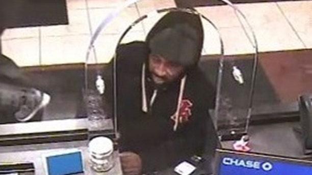 Cops have identified the person in this image as accused bank robber Gerod Woodberry, 42.