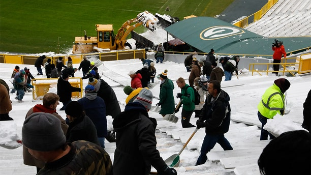 Just last month the Packers made a similar plea to help clear the field ahead of the Dec. 2 Washington Redskins game.