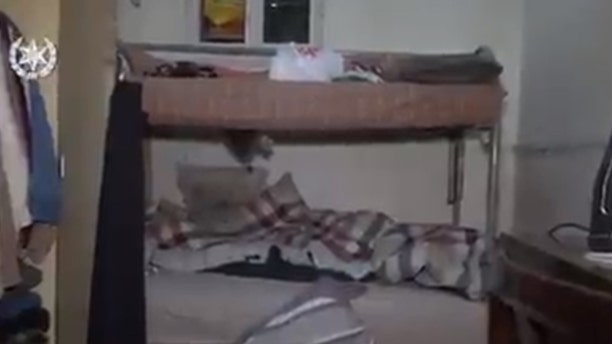 Israeli police have released footage showing the conditions inside the housing complex.