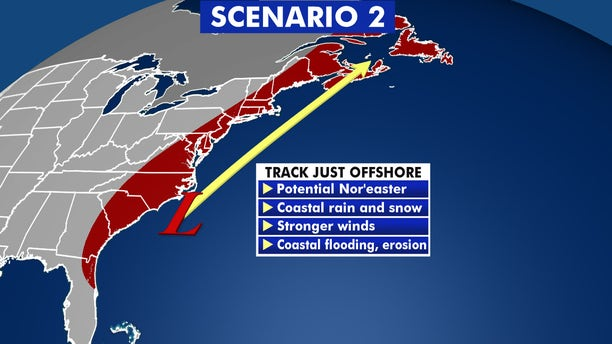 Nor'eaters that track just off the coast can bring heavy snow to the major cities along the Interstate 95 corridor.