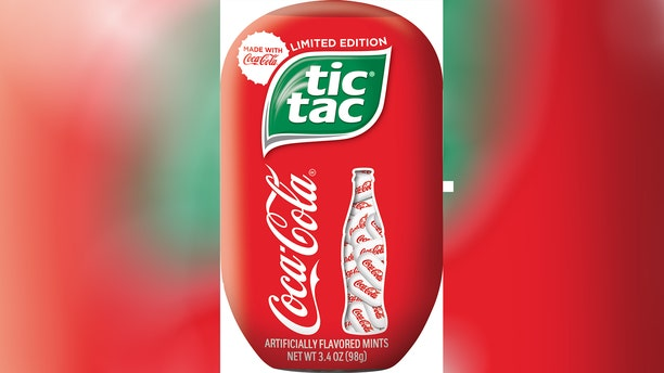 """According to Tic Tac, the unique combo will have fans """"enjoy a revitalizing taste experience which combine the refreshment of Coca-Cola with the iconic taste of Tic Tac."""""""