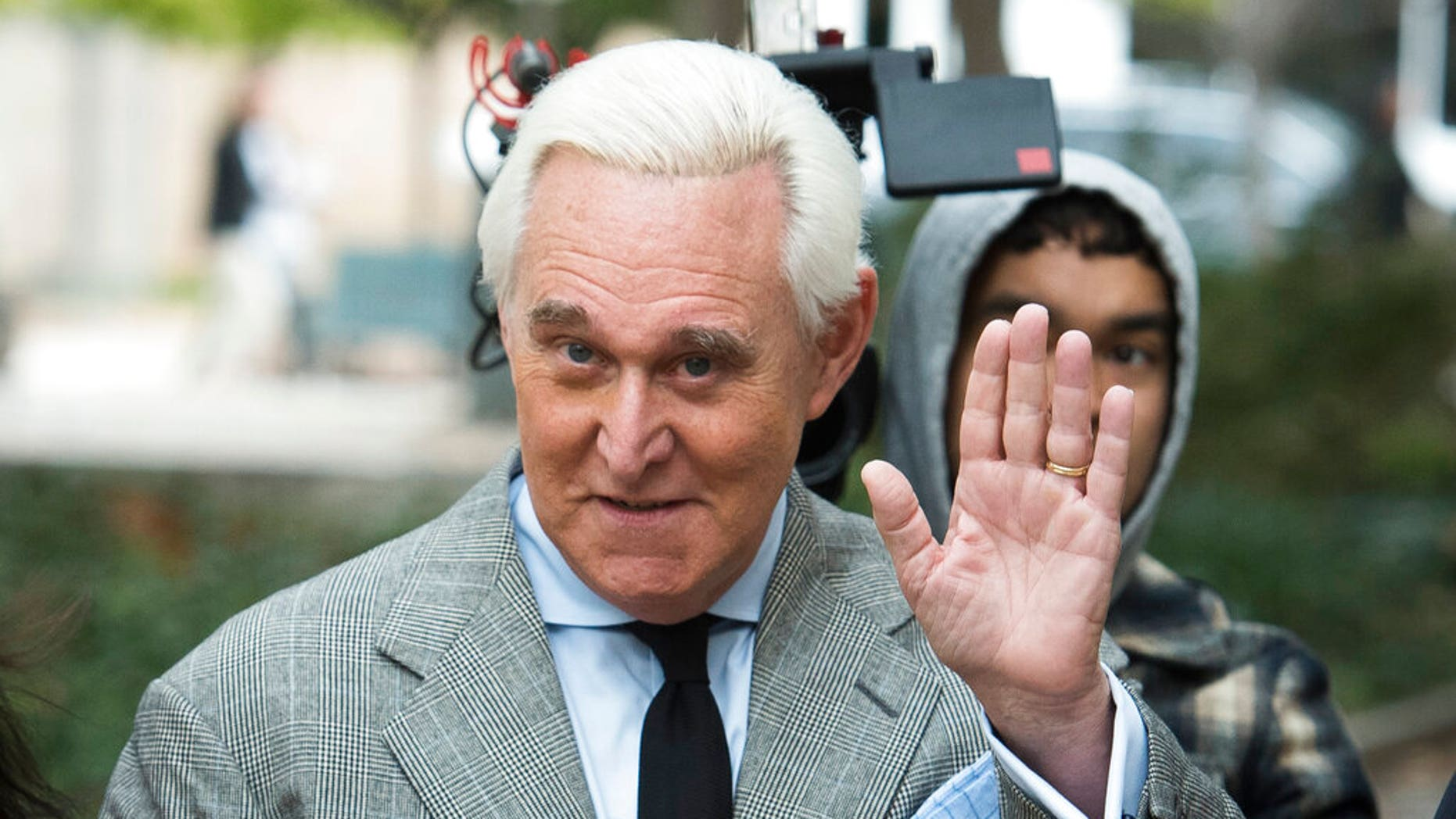 Roger Stone (AP Photo/Cliff Owen)