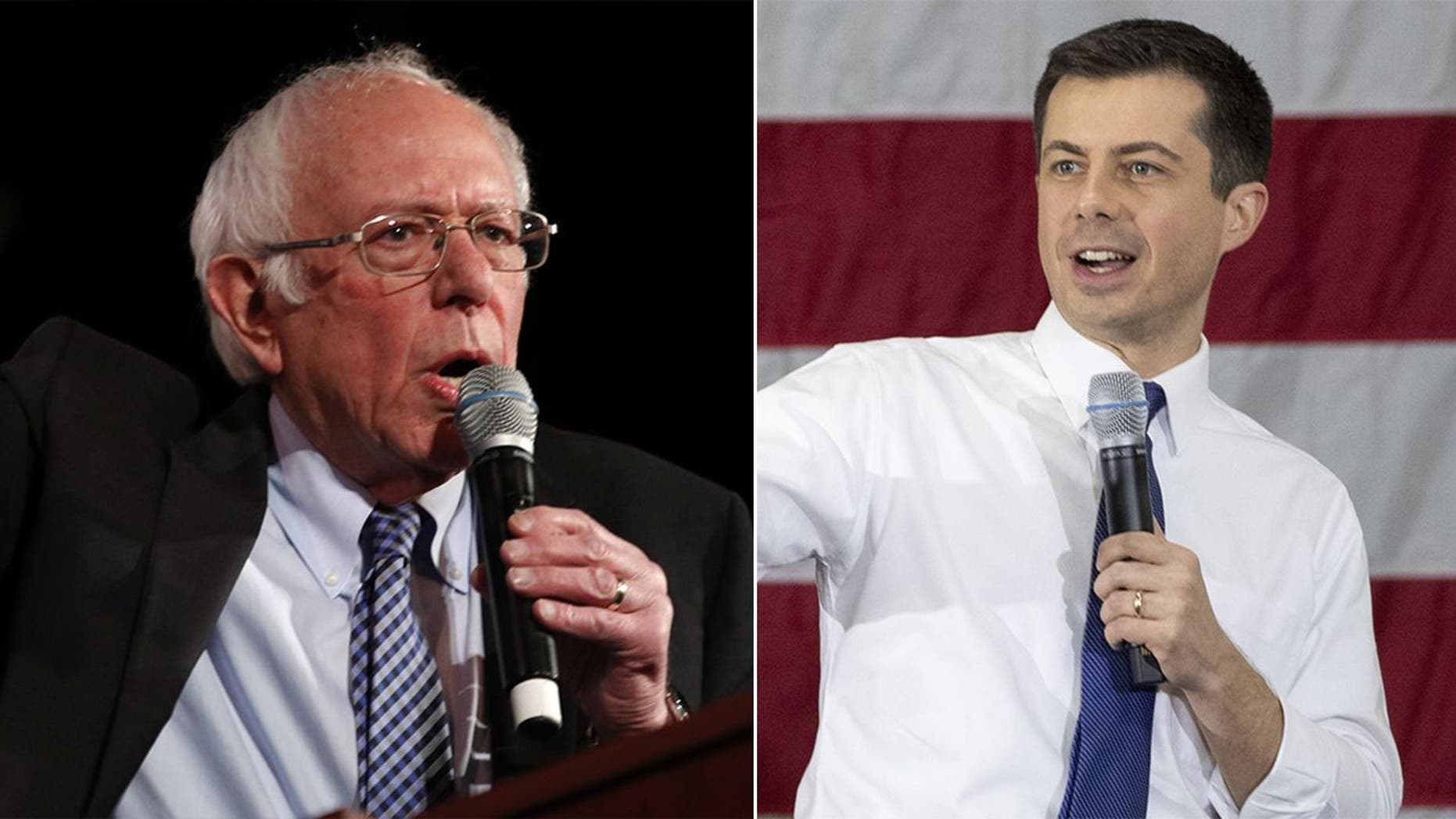 Westlake Legal Group SandersButtigieg021120 New Hampshire primary voting begins as Sanders and Buttigieg battle for top spot, Biden feels the heat fox-news/columns/fox-news-first fox news fnc/us fnc e222f67a-1e1b-5a3d-8611-db63a878672d article