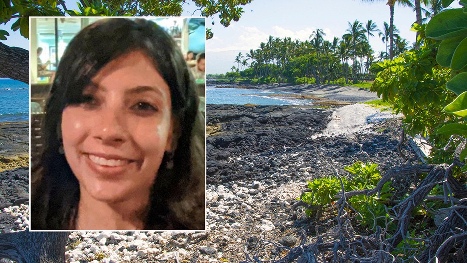 Coral fragments and lava rock on the South Kohala coast. Big Island, Hawaii.