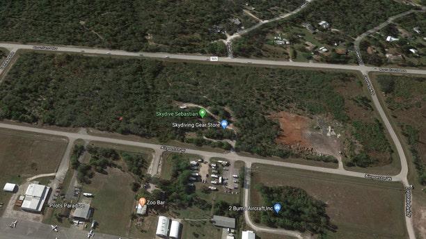 Skydive Sebastian in Sebastian, Florida.