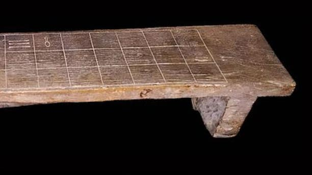 An ancient Egyptian 'board game of death' was used to commune with the deceased around 3,500 years ago. Pictured: the senet board from the collections of Rosicrucian Egyptian Museum in San Jose, California.