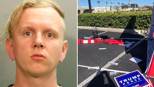 """Gregory Timm, 27, who allegedly rammed his van into aRepublican Party voter registration tent on Saturday tolddeputies he did not likePresident Trumpand """"someone had to take a stand,"""" according to an arrest report."""