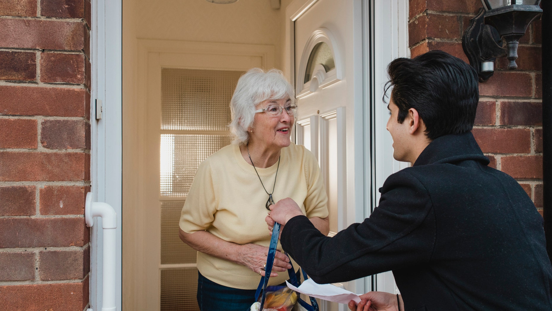 """For those who are older, but unable to cook for themselves or order supplies, Meals on Wheels has changed its model to offer """"no contact"""" delivery."""