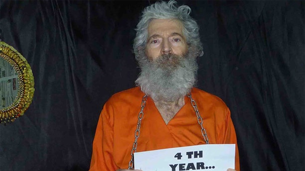 This undated handout photo provided by the family of Robert Levinson after they received it in April 2011, shows retired-FBI agent Robert Levinson. (AP Photo/Levinson Family)