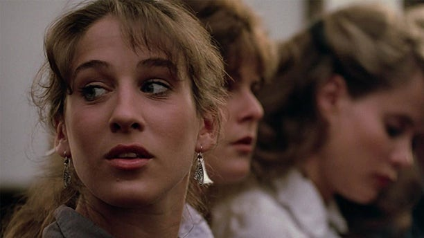Sarah Jessica Parker in a scene from 'Footloose.'