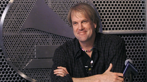 John Tesh at Web Central during Grammy Week 2001 at The Staples Center, Los Angeles, CA., Feb. 20, 2001.