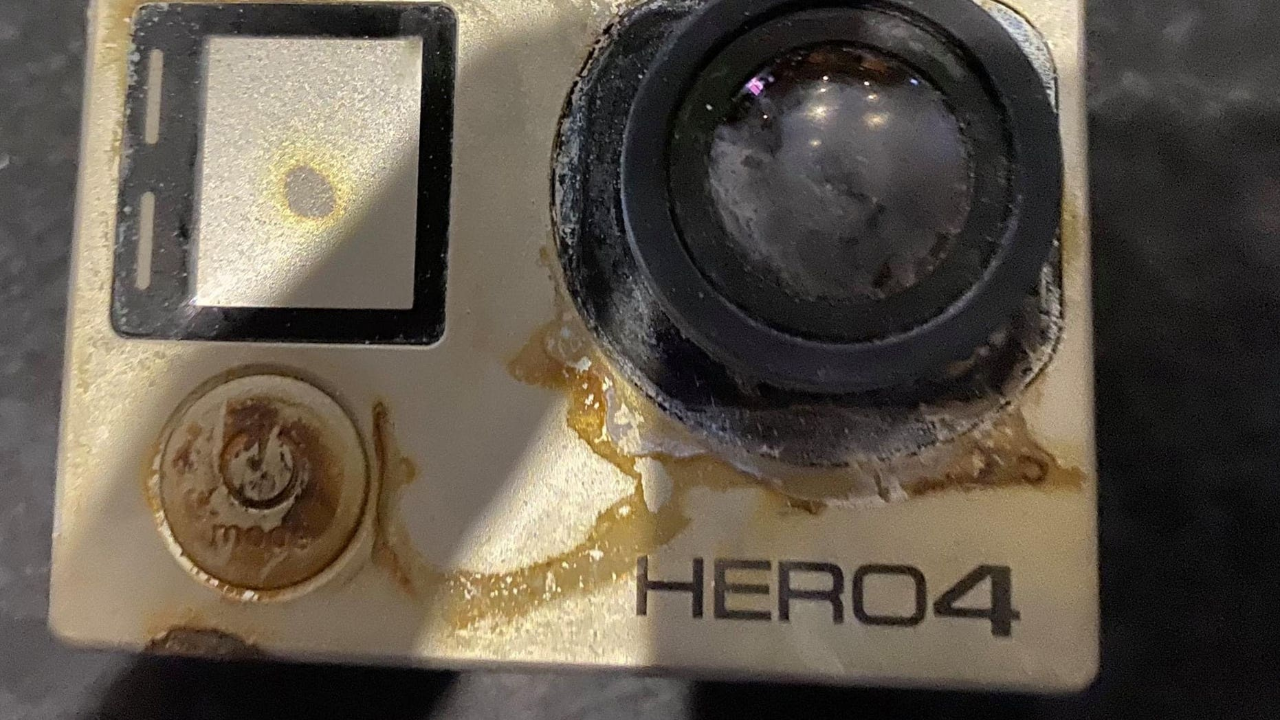 The Hero 4 Go Pro waterproof camera disappeared between the waves of the Caribbean Sea in April 2018.
