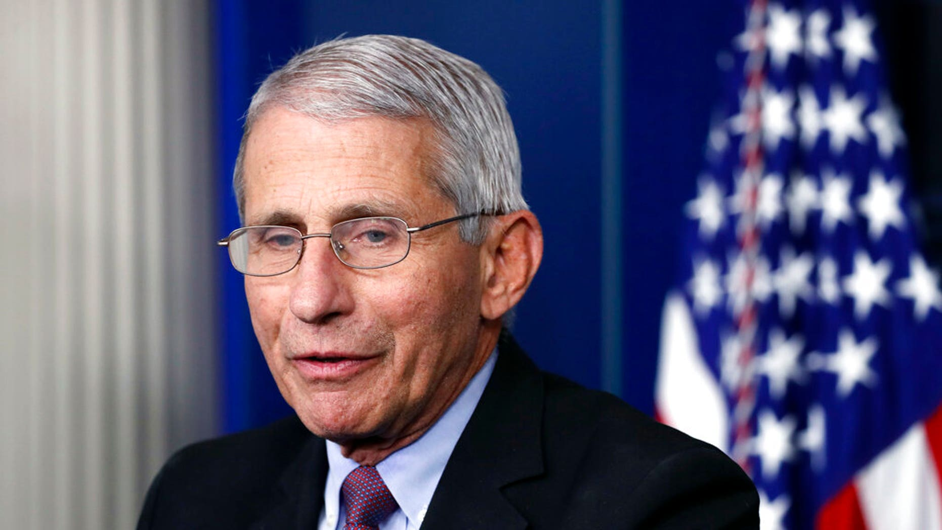 FILE -Dr. Anthony Fauci, director of the National Institute of Allergy and Infectious Diseases. (AP Photo/Alex Brandon, File)