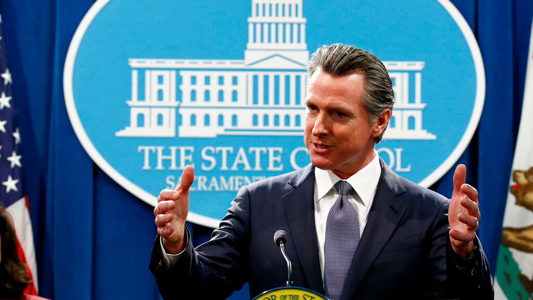 California Gov. Gavin Newsom (AP Photo/Rich Pedroncelli, File)