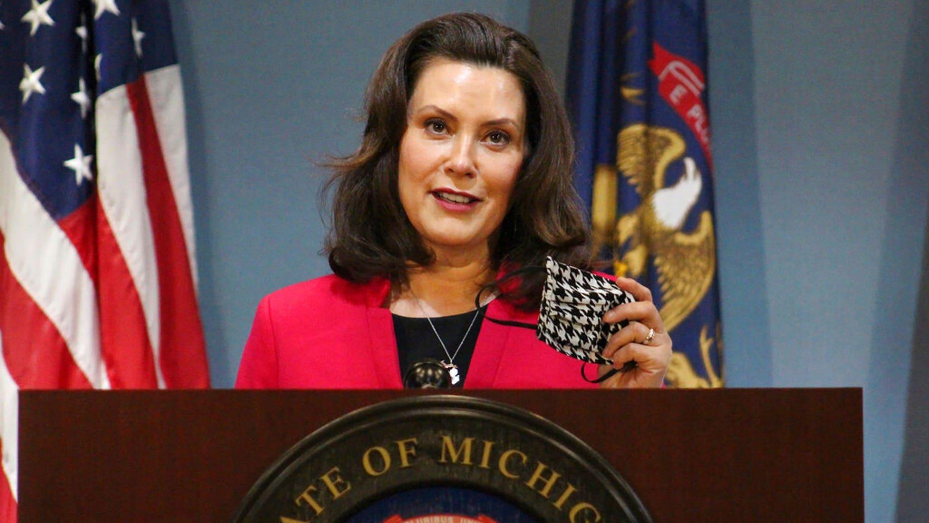Michigan Gov. Gretchen Whitmer (Michigan Office of the Governor via AP, Pool) File