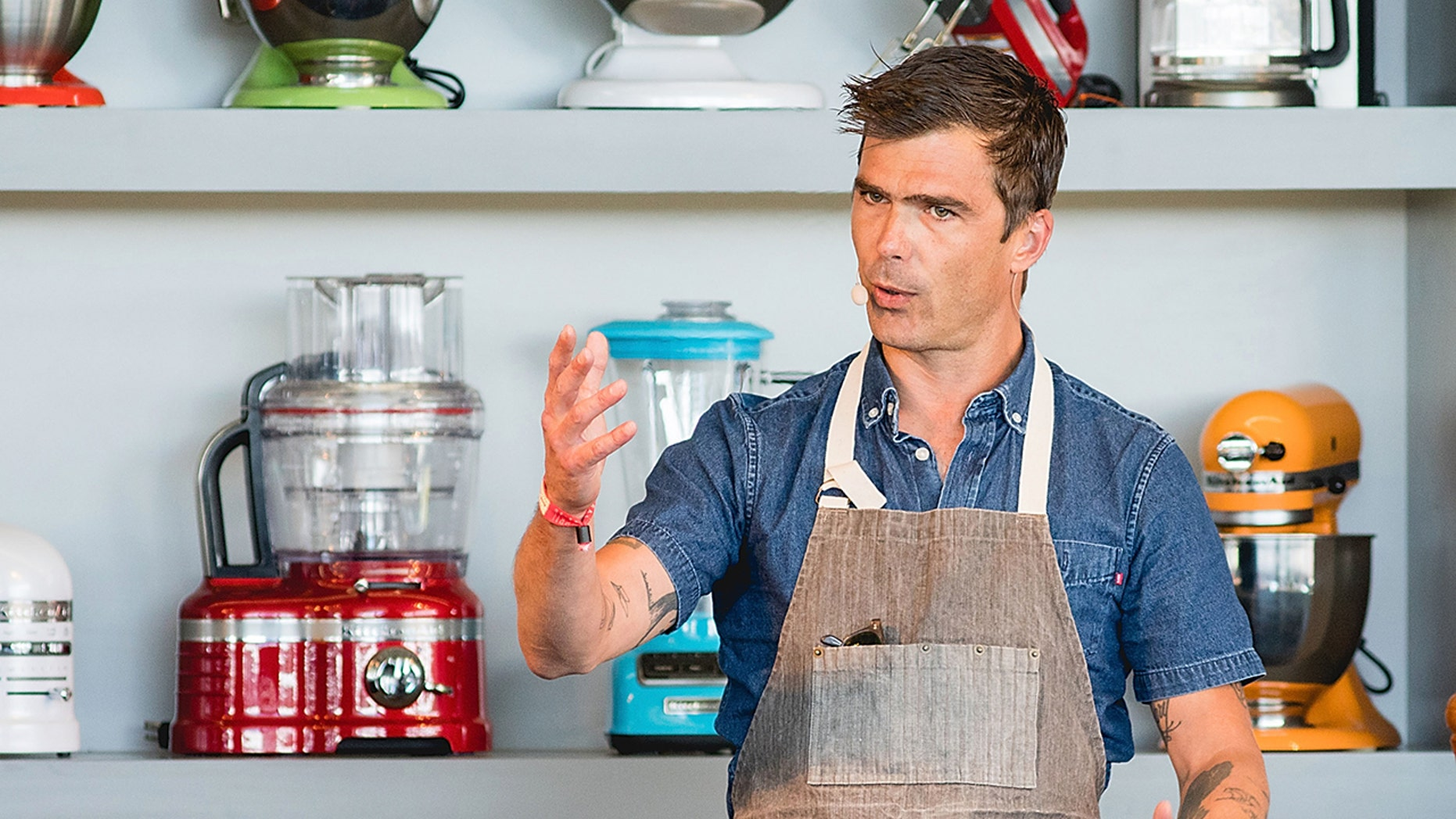 Chef Hugh Acheson, in partnership with Maple from Canada, shared a filling recipe with Fox News, featuring warm ancient-grain farro and fresh vegetables