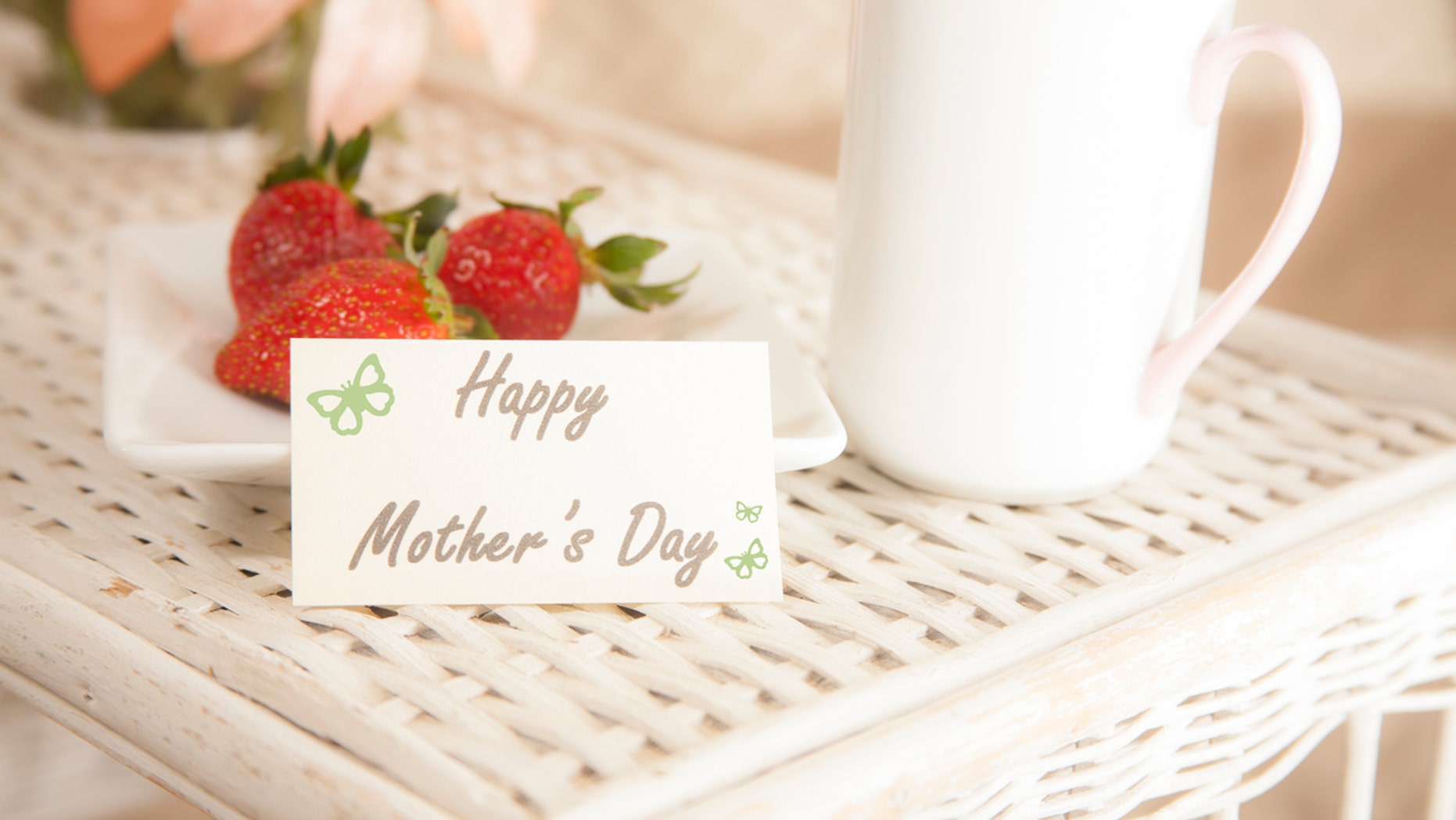 Surprise mom with a delicious breakfast in bed this Mother's Day.