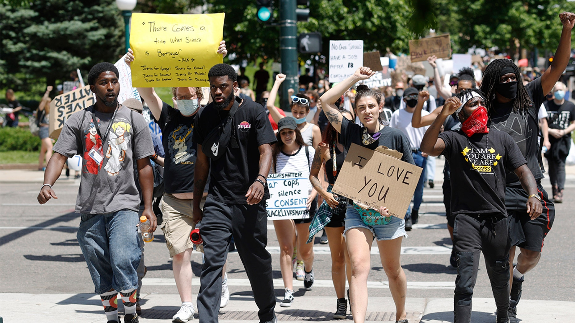 Federal judge restricts Denver police tear gas use at George Floyd protests