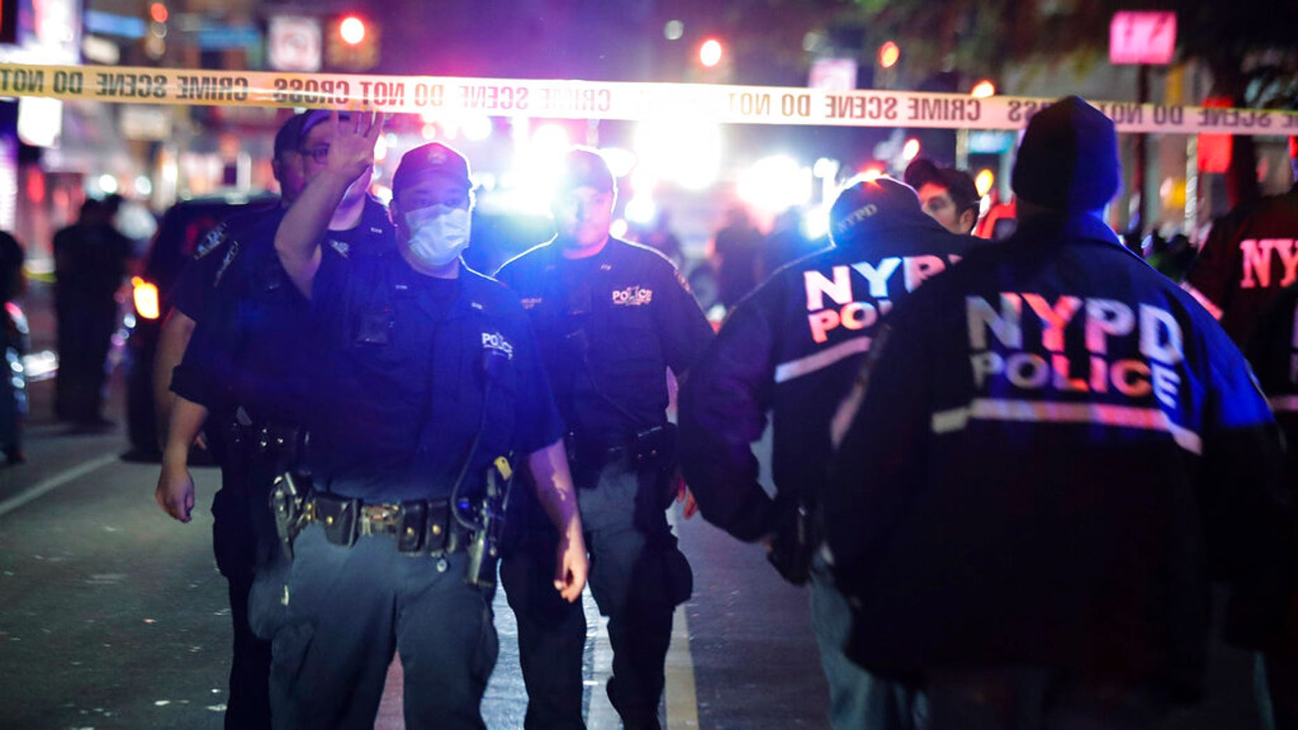 2 NYPD officers shot, another stabbed during post-curfew confrontation, unclear if related to Floyd protests 63