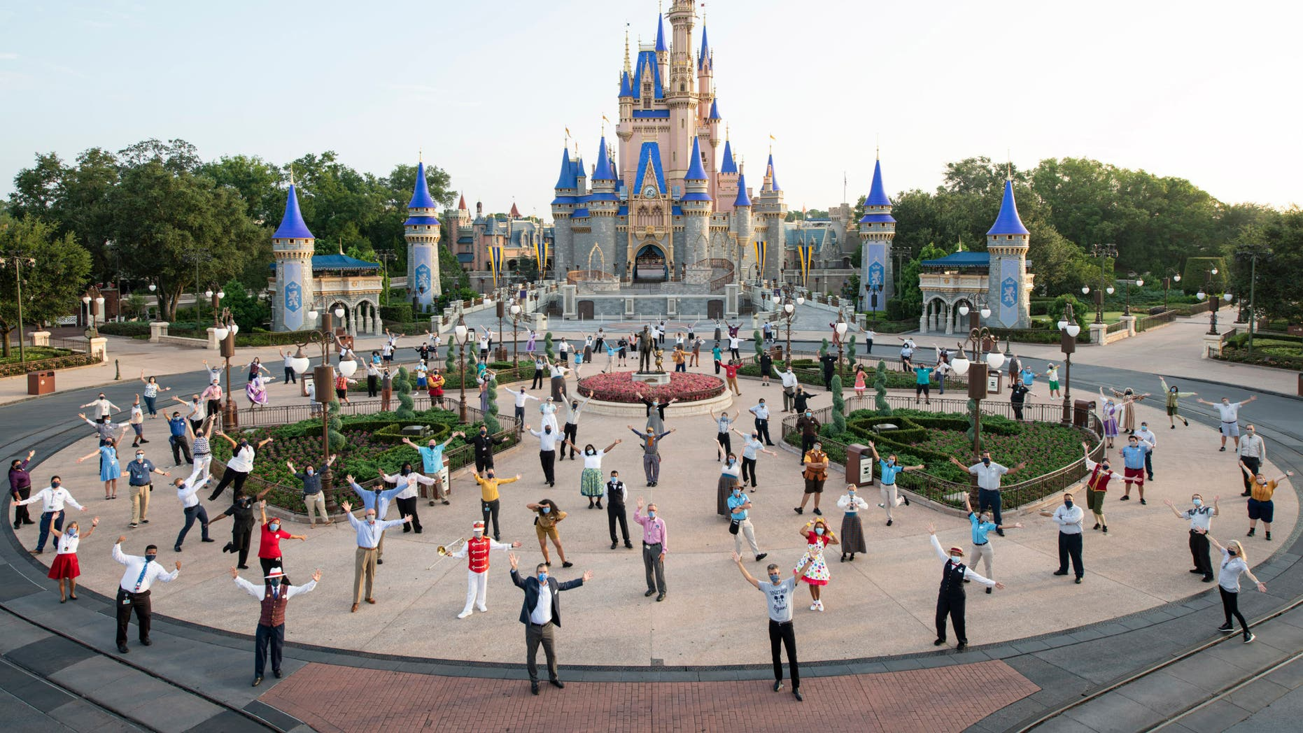 Wish families visiting Walt Disney World stay at Give Kids The World Village, a nonprofit resort in Kissimmee, Fla., that partners with Disney, Universal, SeaWorld, and wish-granting organizations like Make-A-Wish.