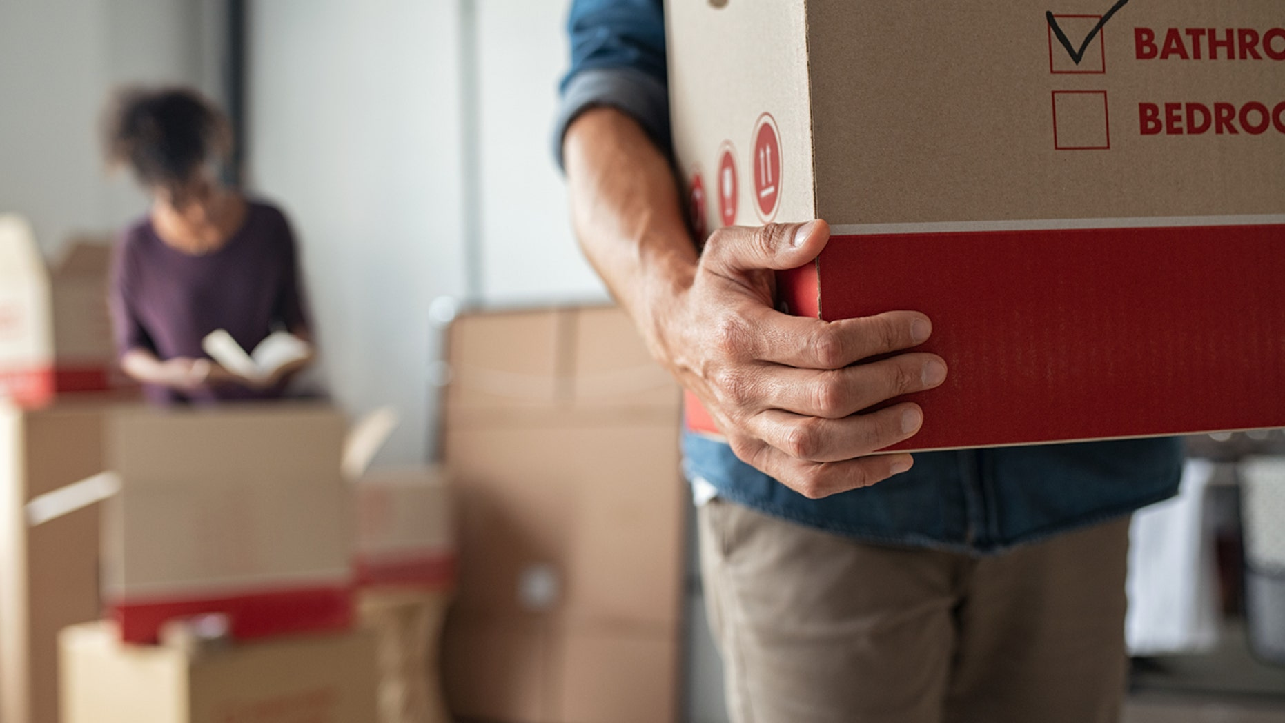 Moving is the most stressful event, followed by a divorce and then marriage, a survey claims.