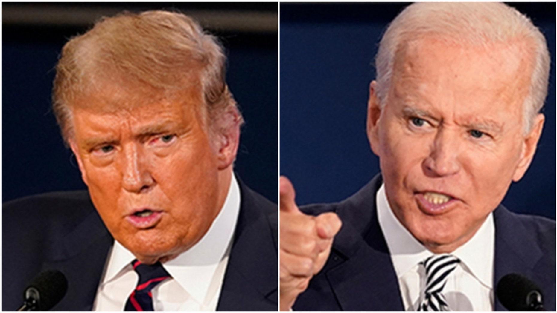 지우다, Biden get nasty in first presidential debate
