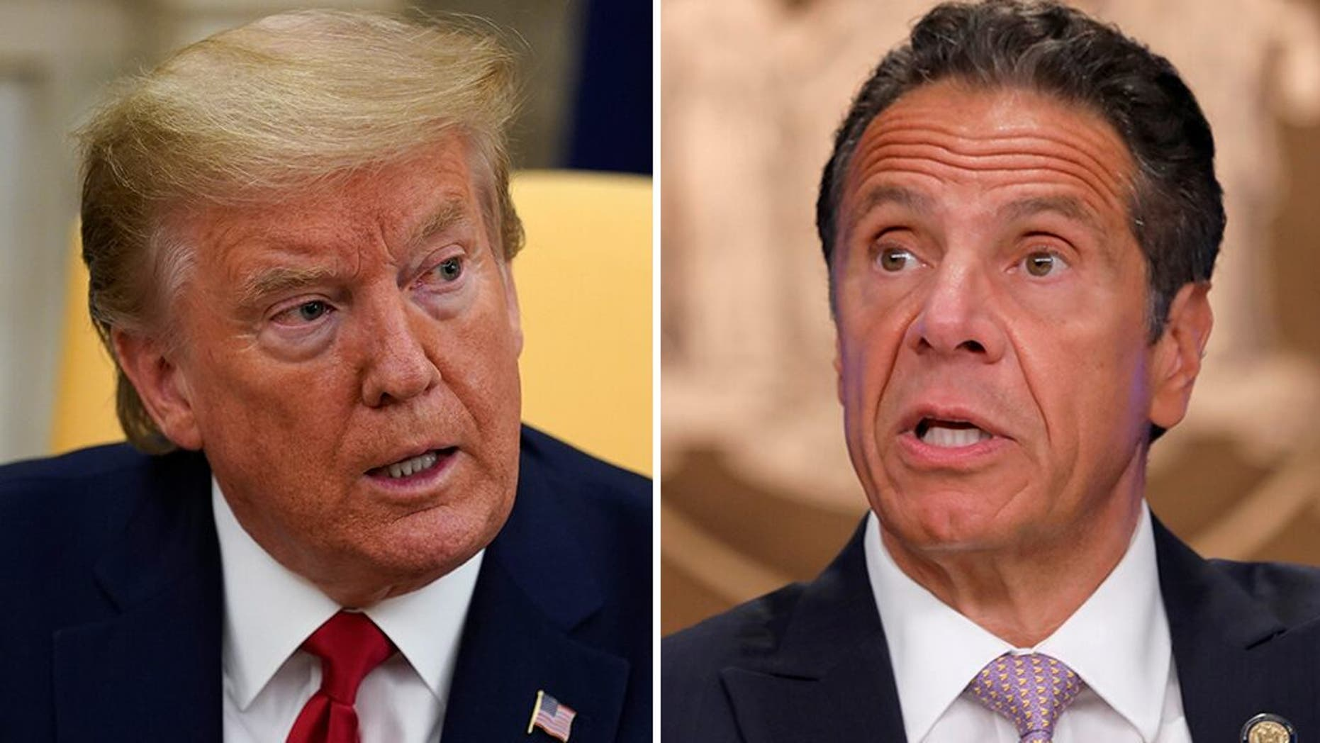 New York Governor defended Trump from the media