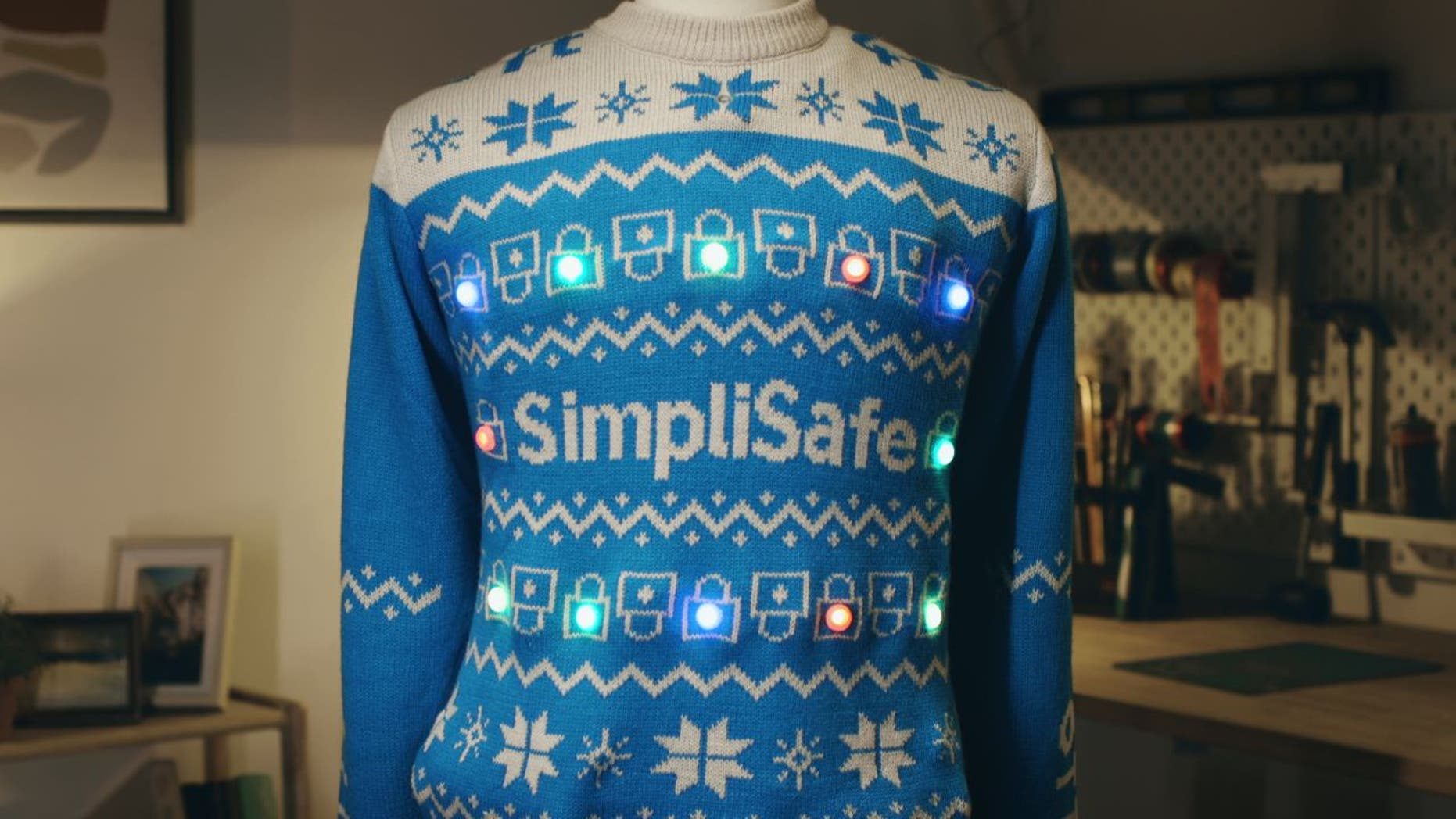 SimpliSafe's holiday 'Social Distancing Sweater' sells out, supports COVID-19 charity