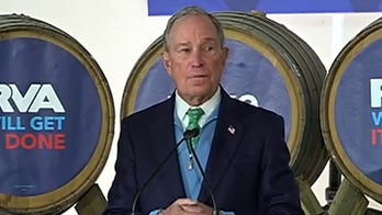 Gun rights activists protest Bloomberg campaign event in Virginia
