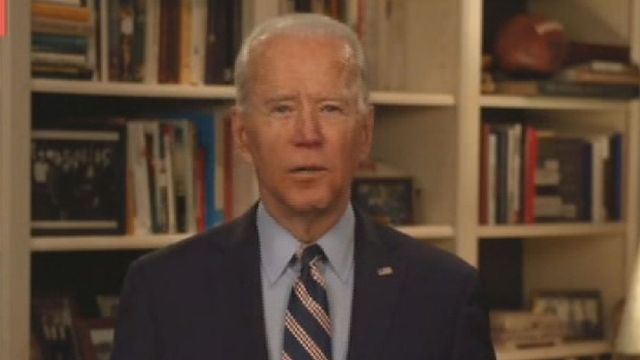 Joe Biden calls out Trump's coronavirus response during livestream address