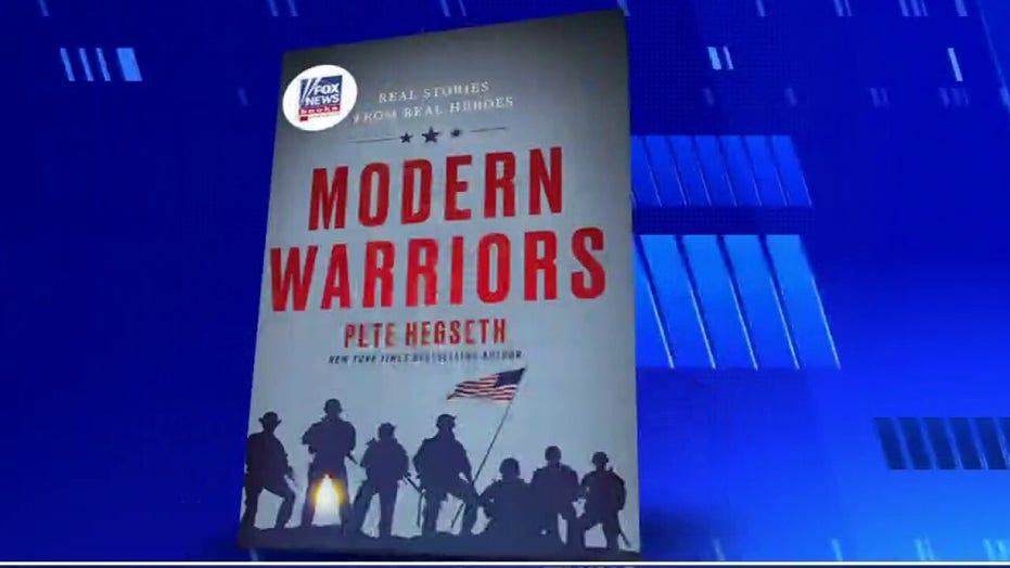 Pete Hegseth's 'Modern Warriors' is first Fox News Books title on New York Times bestsellers list