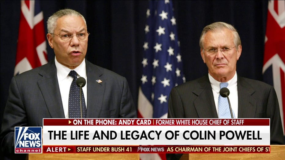 Blinken remembers Colin Powell as 'beloved' secretary of State, says he was 'a huge admirer'