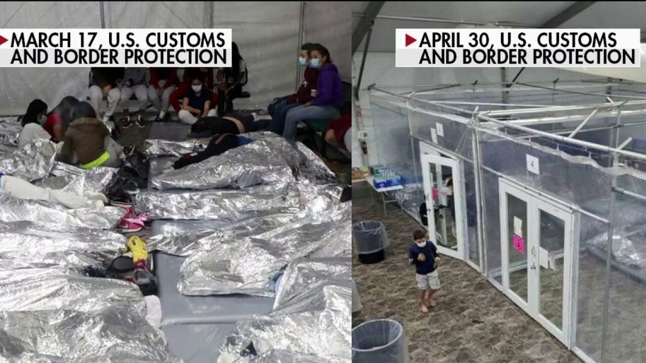 Democrat lawmaker accuses Biden admin of playing 'shell game' with images of empty Border Patrol facility