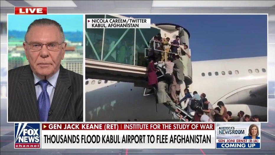 Gen. Keane: Stubborn Biden 'truly owns' Taliban takeover of Afghanistan
