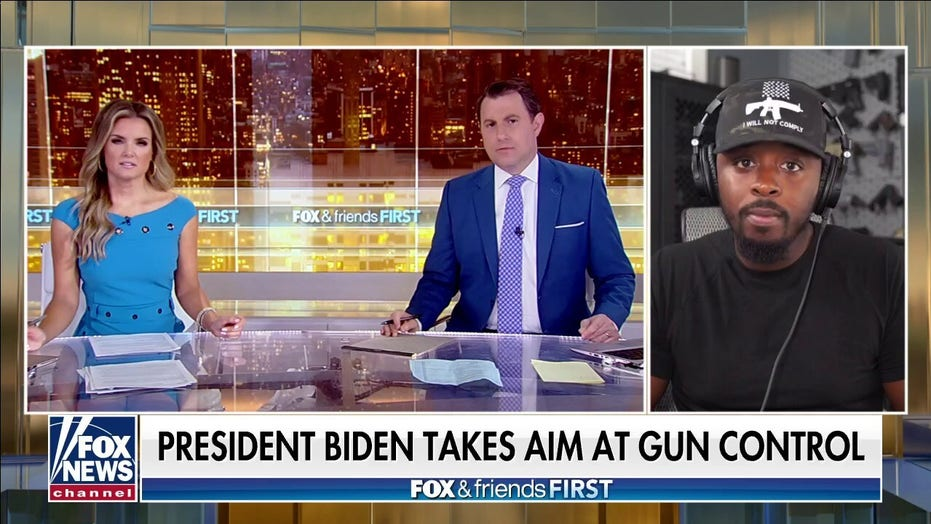 Colion Noir: Biden sees gun owners as 'invading force' and a 'threat to his control'